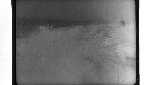 vídeos de stock, filmes e b-roll de as german fleet boats operate on the north sea the wehrmacht attacks belgium - wehrmacht