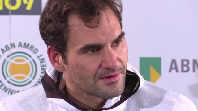 as he moved to within one victory of becoming the oldest man to take the world number one ranking roger federer talks about the pressures of being... - friday stock videos & royalty-free footage
