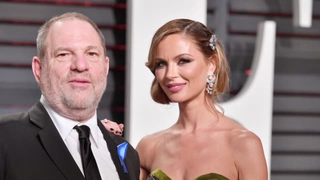 As Hollywood mogul Harvey Weinstein faces allegations of rape his second wife fashion designer Georgina Chapman says she is leaving him