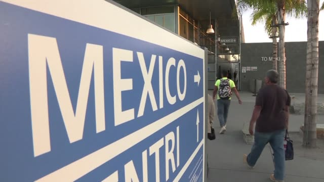 as immigration continues to play a key role in us politics many border dwellers mostly mexican nationals working on american soil say they are... - mexican american stock videos & royalty-free footage
