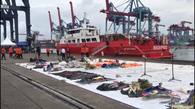 as indonesian divers continue to search for the black box at the plane crash site in the java sea, remains of sriwijaya air flight sj 182 were... - signal box stock videos & royalty-free footage