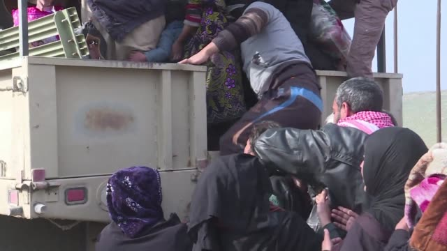 As Iraqi forces continue their push to retake west Mosul from the Islamic State group more residents are forced to flee their homes hoping to be...