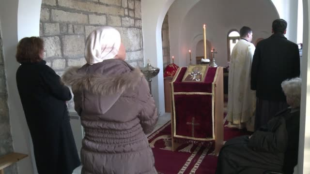 As Kosovo marks five years of independence from Serbia Sunday a small number of Serbs vow to maintain the bell of the sole Christian Orthodox church...