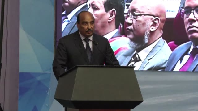 as leaders of the g5 sahel group gather for a conference in nouakchott mauritania the general consensus is that significant progress has been made - nouakchott stock videos & royalty-free footage
