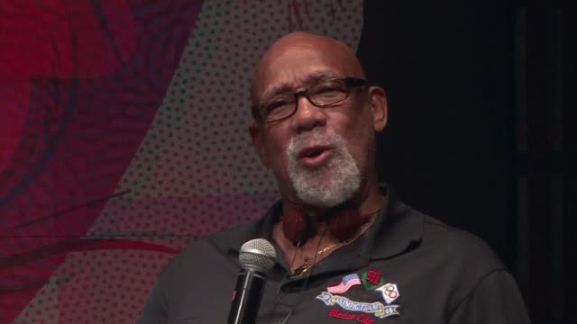 as mexico marks the 50th anniversary of the 1968 summer olympics various athletes including john carlos remember when tommie smith and he raised... - saluting stock videos & royalty-free footage