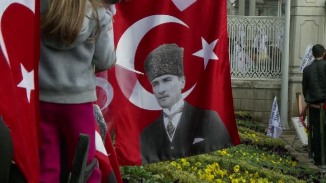 05 precisely Turks stopped to mark two minutes of silence in homage to the countrys founding father Mustafa Kemal Ataturk who died on November 10...