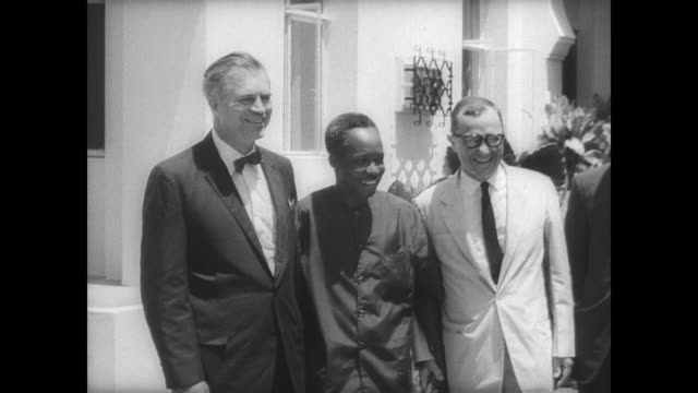 As part of President Lyndon B Johnson's Peace Offensive diplomats travel world affirming America's position on Vietnam / Under Secretary of State for...
