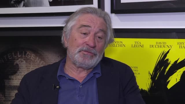 vídeos de stock e filmes b-roll de as robert de niro's tribeca film festival opens in new york the actor and director expresses disappointment that filming schedules mean he can't make... - festival de cinema tribeca