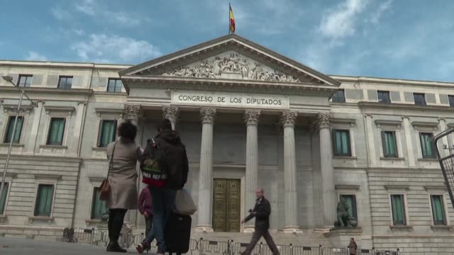 as spain prepares to head to the polls for the third general election in less than four years amid the emergence of the far right the catalan crisis... - vox populi stock videos and b-roll footage