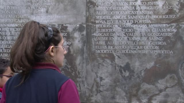 as the 40th anniversary of chiles coup approaches a memory journey takes visitors around torture centers the graves of salvador allende and of... - salvador allende stock videos & royalty-free footage