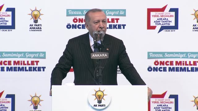 as the countdown for turkey's local government polls set to be held on march 31 began on tuesday turkish president announced names of mayoral... - bürgermeister stock-videos und b-roll-filmmaterial