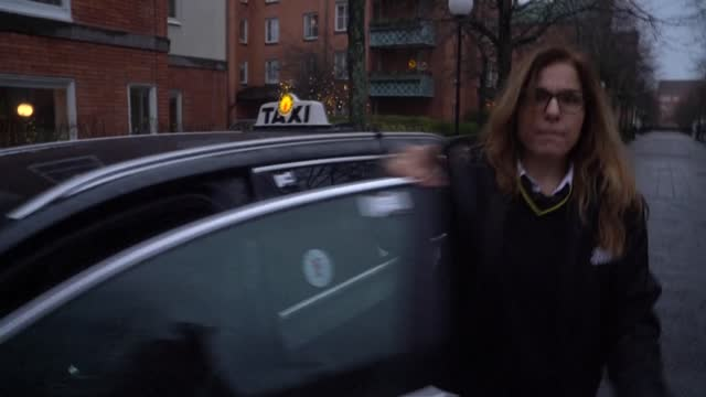 stockvideo's en b-roll-footage met as the covid-19 pandemic worsened and her business ferrying stockholmers around the city dried up, swedish taxi driver jotta nikopoulou found new... - taxi