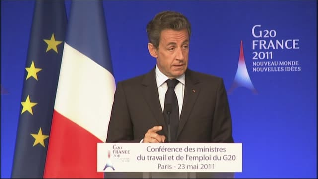 as the french resort of deauville is locked down behind a massive security blanket for the g8 summit, french president nicolas sarkozy has been... - security blanket stock videos & royalty-free footage