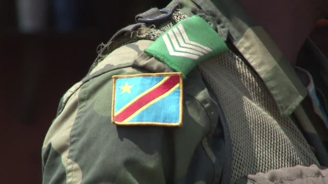as the military leader of the m23 rebels in the democratic republic of congo flies to kampala monday for talks a general from the congolese army... - kampala stock videos & royalty-free footage