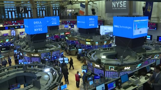 as the new york stock exchange prepares to partially reopen its floor after full shutdown amid the coronavirus pandemic, stock trader peter tuchman -... - market stock videos & royalty-free footage