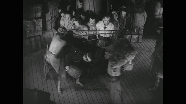 as the violence intensifies, pirate (douglas fairbanks) becomes unhappy - looting stock videos & royalty-free footage