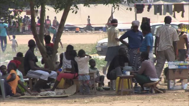 As violence in the Central African Republic continues to escalate some 21000 people are taking refuge in the Don Bosco camp where UNICEF workers have...
