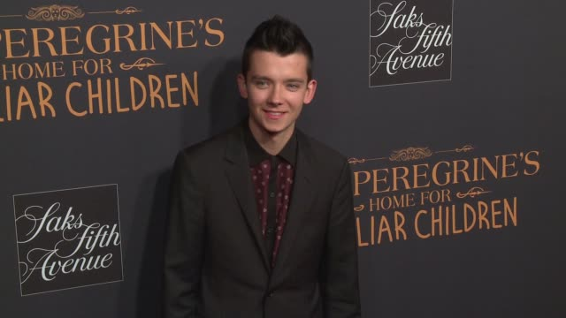 Asa Butterfield at Miss Peregrine's Home For Peculiar Children New York Premiere at Saks Fifth Avenue on September 26 2016 in New York City