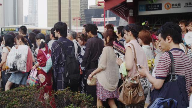 Asakusa Crowds