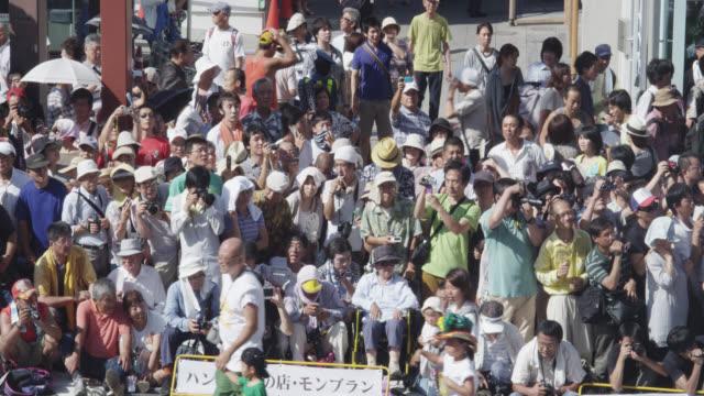 asakusa samba festival - fan enthusiast stock videos and b-roll footage