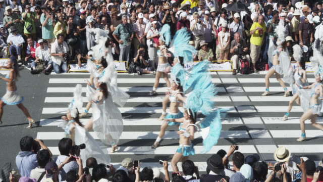 asakusa samba festival - パレード点の映像素材/bロール