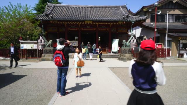 vídeos de stock, filmes e b-roll de asakusa shrine also known as sanjasama is one of the most famous shinto shrines at asakusa tokyo japan asakusa is located in shitamachi area in... - templo asakusa kannon