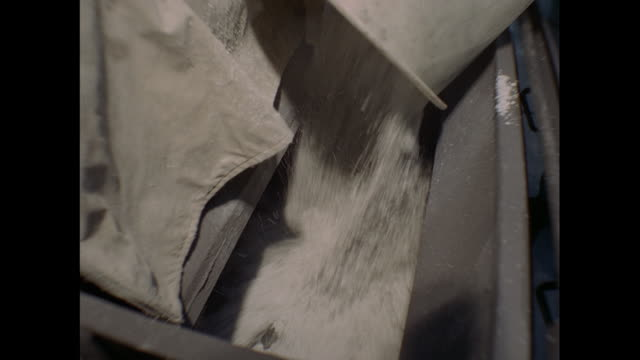 montage asbestos preparation for vehicle break-lingings in united kingdom - asbest stock-videos und b-roll-filmmaterial