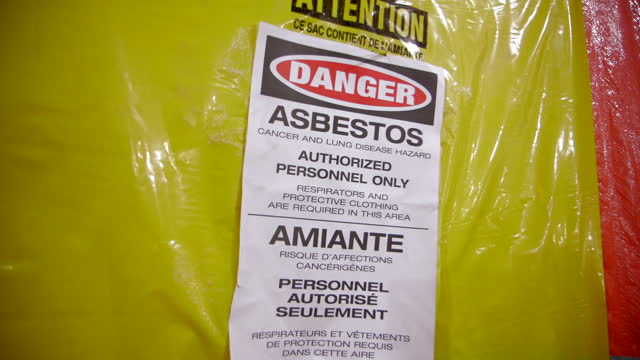 asbestos - occupational safety and health stock videos & royalty-free footage