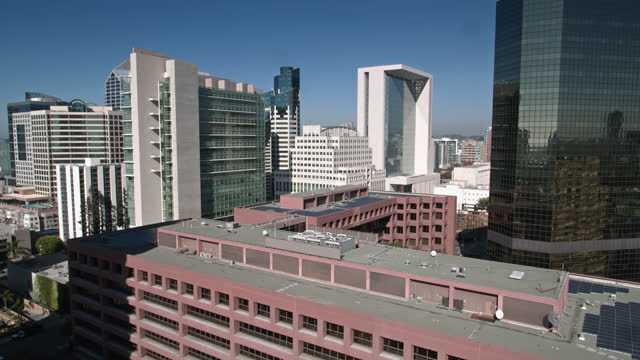 ascending drone shot of downtown san diego - san diego stock videos & royalty-free footage
