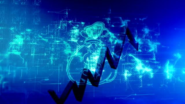 vidéos et rushes de tableau financier ascendant - engagement des clients