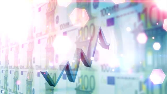 aufsteigendefinanzkarte - symbol stock-videos und b-roll-filmmaterial