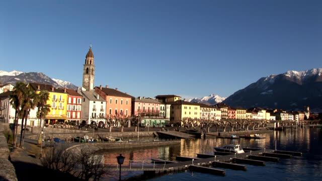ascona canton ticino, switzerland - ticino canton stock videos and b-roll footage