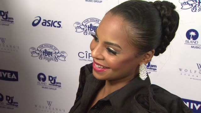 Ashante at the NIVEA at the Island Def Jam 2009 GRAMMY's After Party at Los Angeles CA