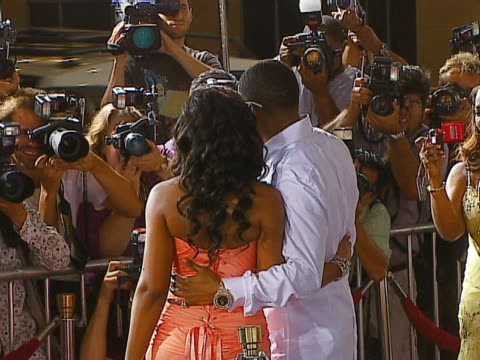 Ashanti and Nelly at the 20th Century Fox Studios John Tucker Must Die Los Angeles Premiere at Manns Chinese Theater in Hollywood California