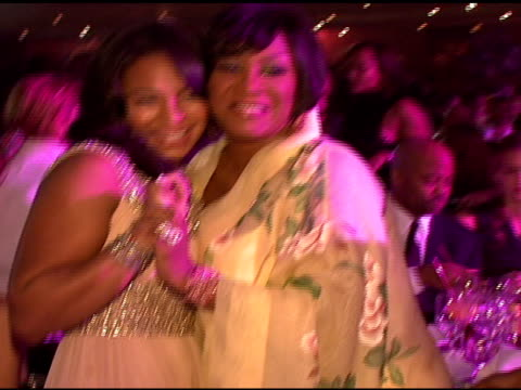 ashanti and patti labelle at the denise rich marks 10th year of the gp foundation with an evening of stars and music at the 2007 angel ball at... - marriott marquis new york stock videos & royalty-free footage