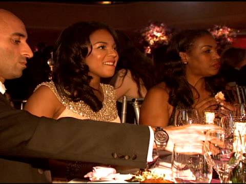 ashanti and sean 'p diddy' combs at the denise rich marks 10th year of the gp foundation with an evening of stars and music at the 2007 angel ball at... - marriott marquis new york stock videos & royalty-free footage
