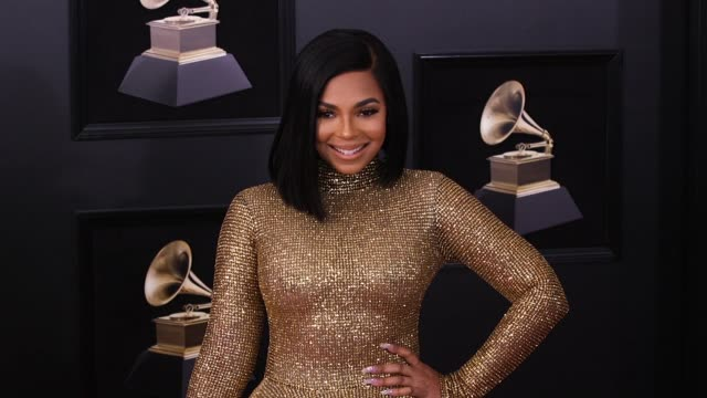 Ashanti at 60th Grammy Awards Celebration Party at Madison Square Garden on January 28 2018 in New York City