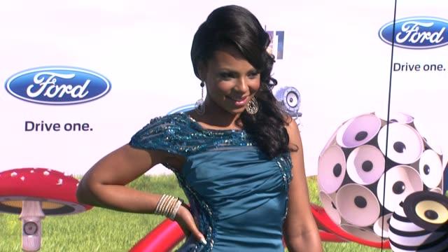 ashanti at the 2011 bet awards at los angeles ca - bet awards stock videos and b-roll footage