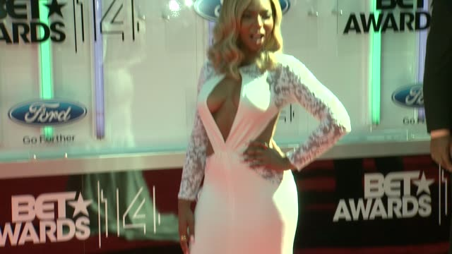 ashanti at the 2014 bet awards on june 29 2014 in los angeles california - bet awards stock videos and b-roll footage