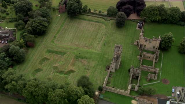 ashby-de-la-zouche castle - leicestershire stock videos & royalty-free footage