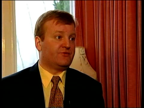 no coalition with snp itn scotland edinburgh charles kennedy mp interview sot if you're representing everything from rural areas in sw england to... - charles kennedy stock videos & royalty-free footage