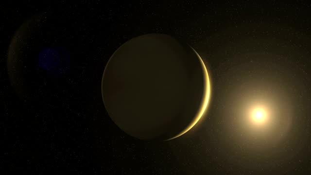 Ashen light of Venus