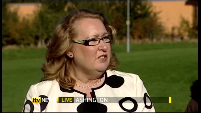 EXT Mary Nightingale LIVE 2WAY ex Ashington John McCormack LIVE interview SOT Anne Lyall LIVE interview SOT Marjorie Chambers LIVE interview SOT...