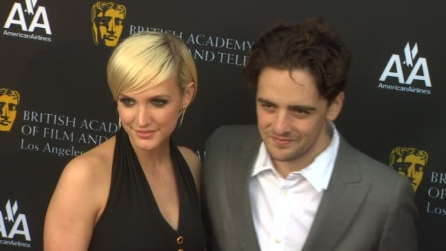 Ashlee Simpson and Vincent Piazza at the 9th Annual BAFTA Los Angeles TV Tea Party at Beverly Hills CA