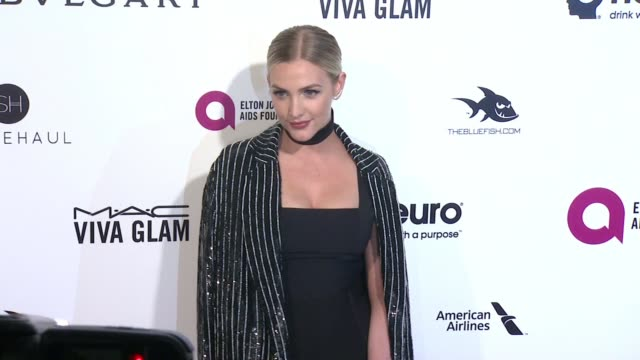 Ashlee Simpson at Elton John AIDS Foundation Presents 24th Annual Academy Awards Viewing Party on February 28 2016 in West Hollywood California
