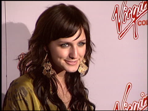 Ashlee Simpson at the 2004 MTV Movie Awards Virgin Cola After Party at Fame@Xes in Hollywood California on June 5 2004