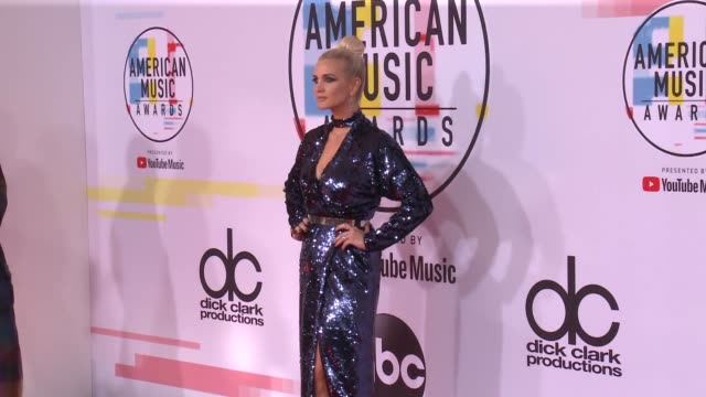Ashlee Simpson at the 2018 American Music Awards at Microsoft Theater on October 09 2018 in Los Angeles California