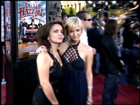 Ashlee Simpson at the Premiere of 'The Dukes of Hazzard' at Grauman's Chinese Theatre in Hollywood California on July 28 2005