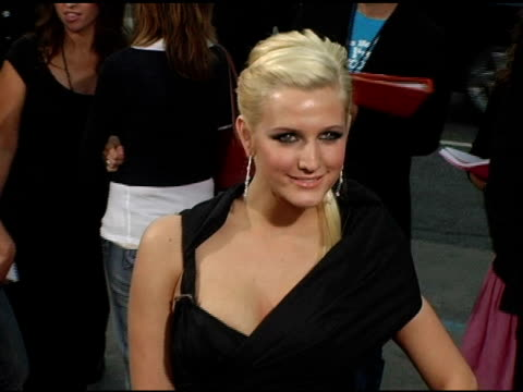 Ashlee Simpson at the 'Undiscovered' Los Angeles Premiere at the Egyptian Theatre in Hollywood California on August 23 2005