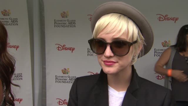 Ashlee Simpson on how she feels to be at the 22nd Annual Time for Heroes Celebrity Picnic why she wanted to come and support why the EGPAF is...